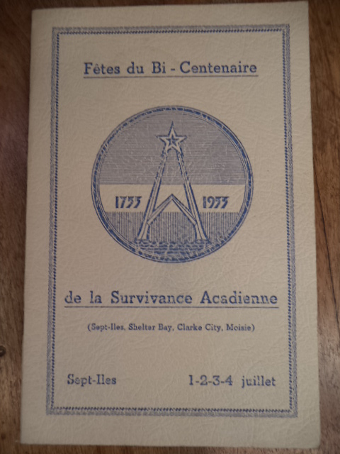 Image for Fetes du Bi Centenaire de la Survivance Acadienne. 1955 Sept Iles.