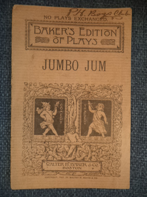 Image for Jumbo Jum. An Original Farce In One Act .