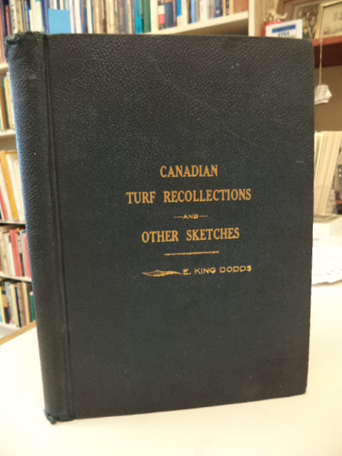 Image for Canadian Turf Recollections and Other Sketches