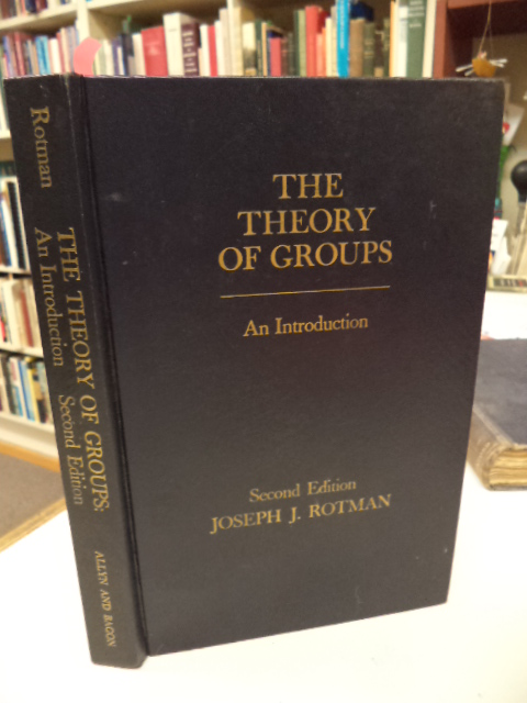 Image for The Theory of Groups :  An Introduction. Second Edition.
