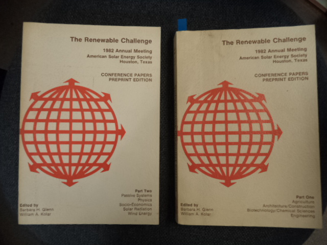 Image for The Renewable Challenge : 1982 Annual Meeting, American Solar Energy Society, Houston, Texas: Conference papers : 2 Volumes. Progress In  Solar Energy
