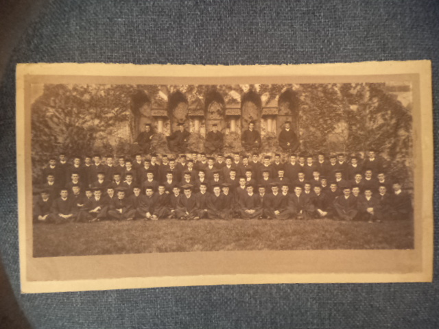 Image for AMHERST COLLEGE 1910 original Graduating Class Photo