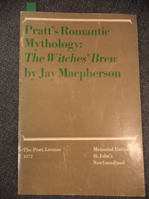 Image for Pratt's Romantic Mythology: The Witches' Brew