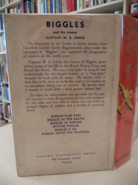 Image for BIGGLES FLIES EAST [Canadian issue with DJ]