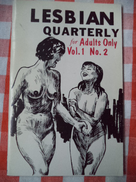 "Image for Lesbian Quarterly ""for Adults Only"" Vol. 1, No. 2"