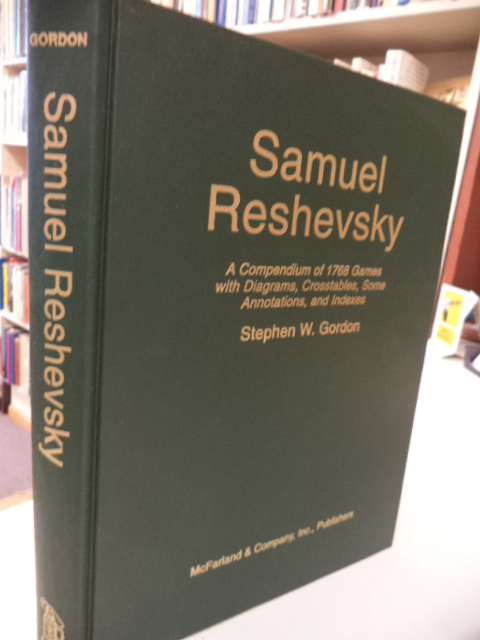 Image for Samuel Reshevsky: A Compendium of 1768 Games With Diagrams, Crosstables, Some Annotations, and Indexes