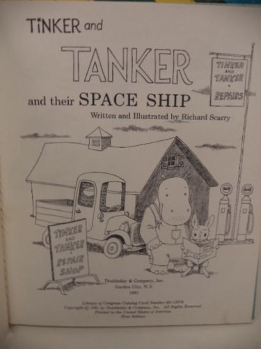 Image for Tinker and Tanker and their Space Ship