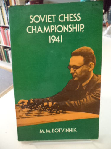 Image for Soviet chess championship, 1941;: Complete text of games with detailed notes & an introduction
