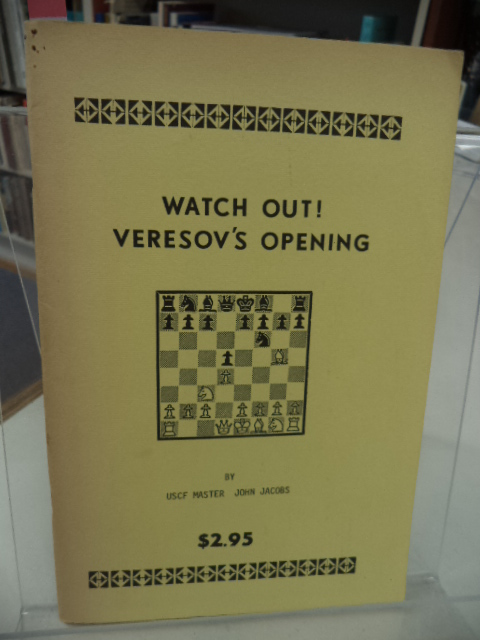 Image for Watch Out! Veresov's Opening
