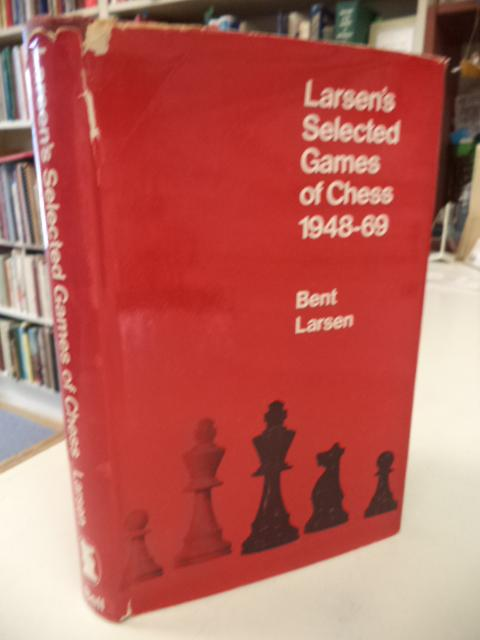 Image for Larsen's Selected Games of Chess 1948-69