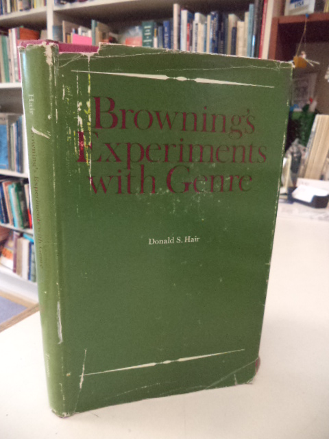 Image for Browning's Experiments with Genre