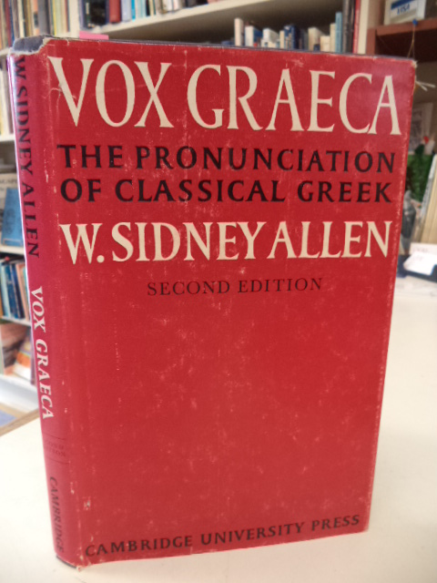 Image for Vox Graeca: A Guide to the Pronunciation of Classical Greek