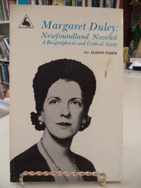 Image for Margaret Duley, Newfoundland Novelist: A Biographical and Critical Study