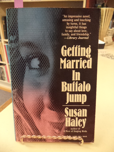 Image for Getting Married In Buffalo Jump [signed]
