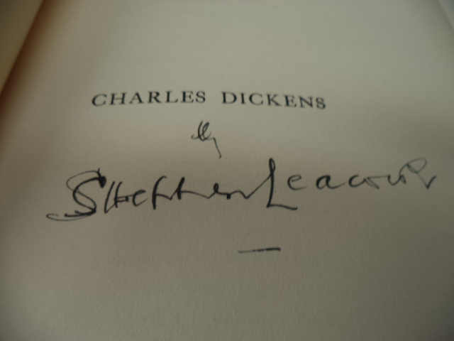 Image for Charles Dickens: His Life and Work  [signed]