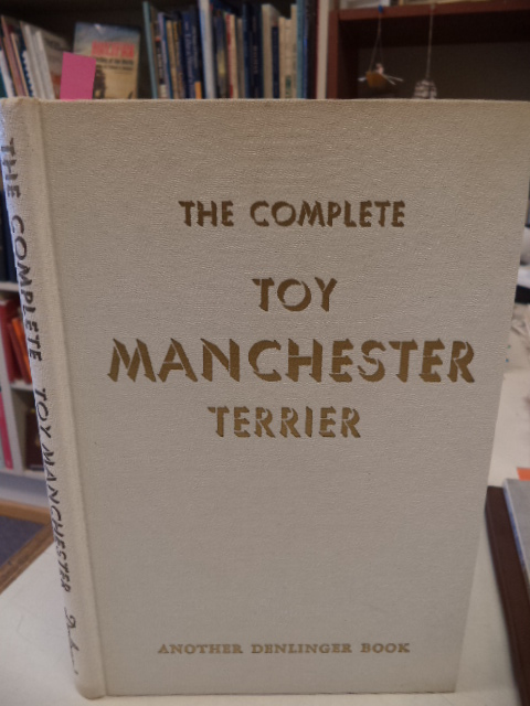 Image for The Complete Toy Manchester Terrier AND Toy Manchester Terriers Ideals and Faults