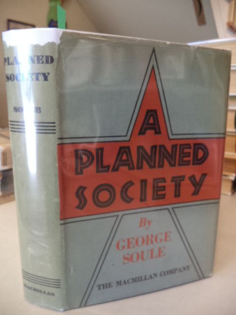 Image for A Planned Society [first printing review copy]