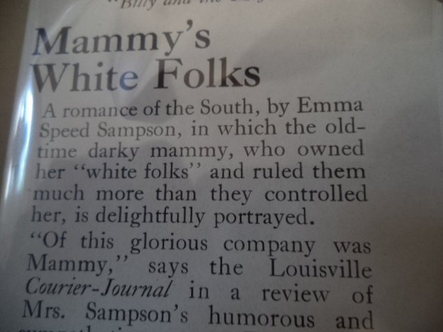 Image for Mammy's White Folks