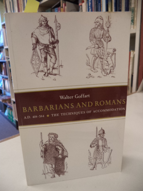 Image for Barbarians and Romans, A.D. 418-584