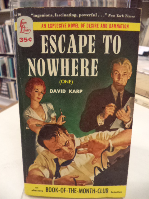 Image for Escape To Nowhere [One]
