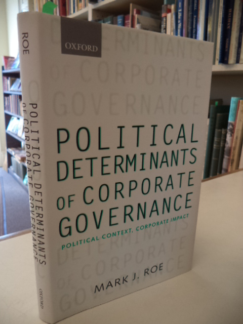 Image for Political Determinants of Corporate Governance