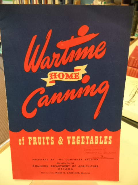Image for Wartime Home Canning of Fruits & Vegetables