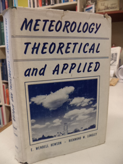 Image for Meteorology Theoretical and Applied [signed]