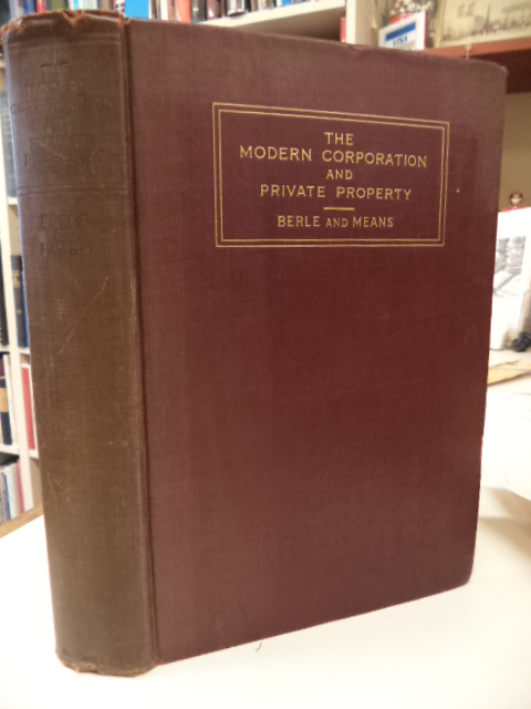 Image for The Modern Corporation and Private Property