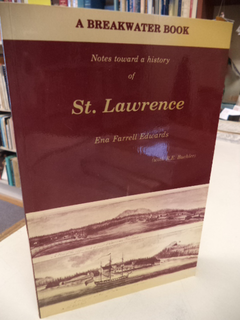 Image for St. Lawrence (Notes toward a history of)