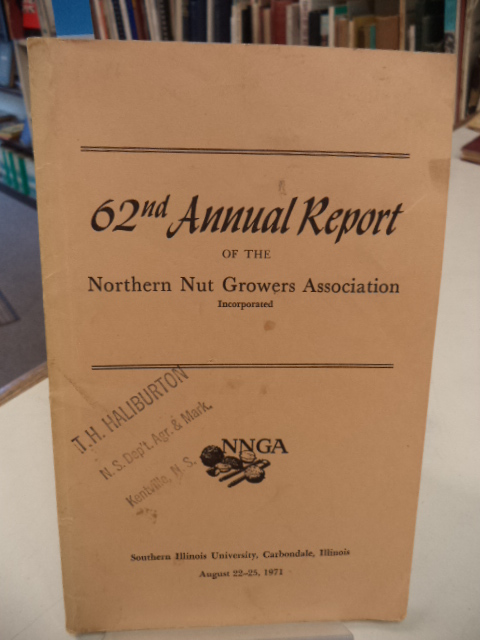 Image for 62nd Annual Report of the Northern Nut Growers Association [NNGA]