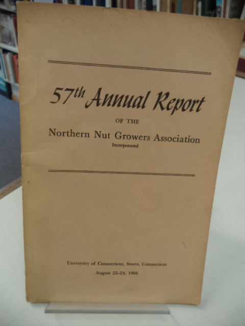 Image for 57th Annual Report of the Northern Nut Growers Association [NNGA]