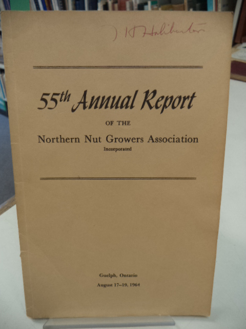 Image for 55th Annual Report of the Northern Nut Growers Association [NNGA]