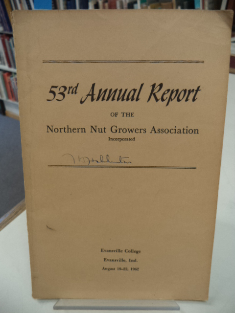 Image for 53rd Annual Report of the Northern Nut Growers Association [NNGA]