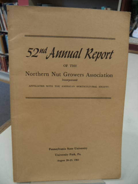 Image for 52nd Annual Report of the Northern Nut Growers Association [NNGA]