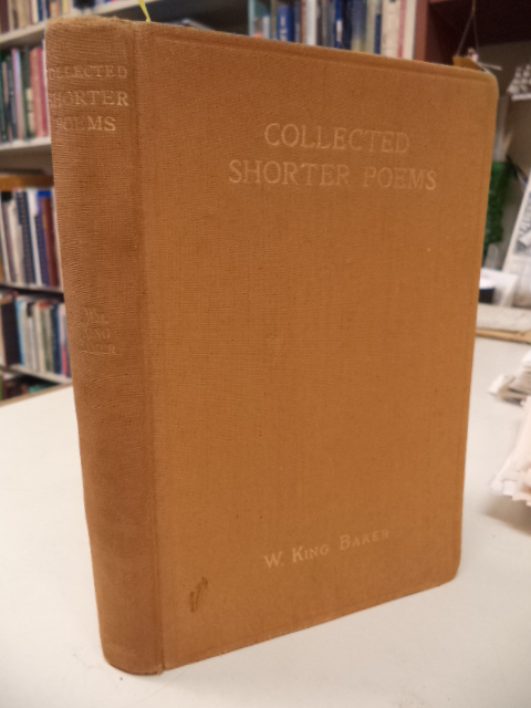 Image for Collected Shorter Poems
