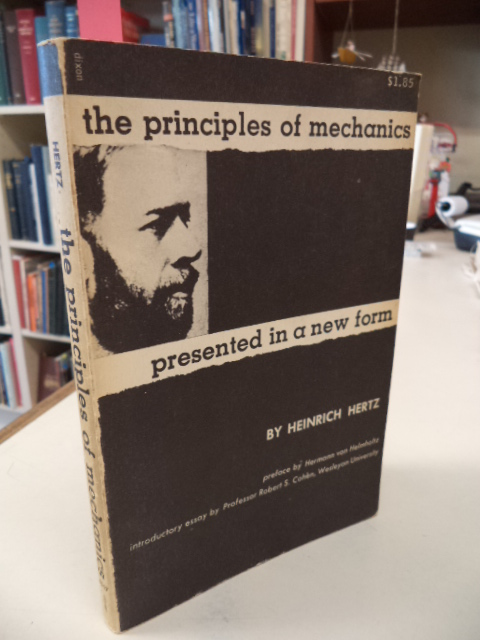 Image for The Principles of Mechanics Presented in a New Form