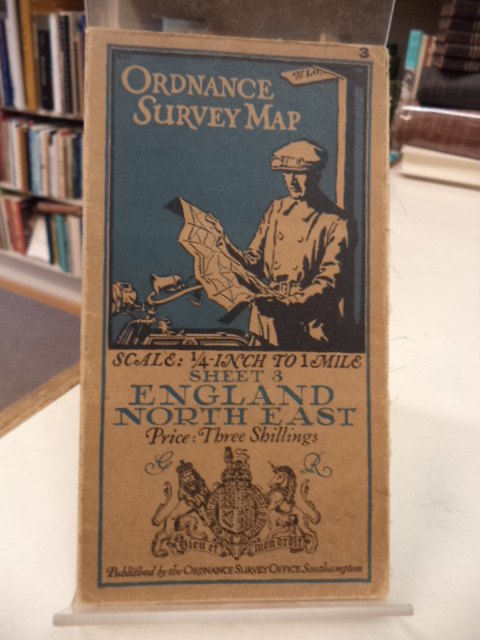 Image for ORDNANCE SURVEY MAP. Sheet 3. England North East. Scale 1/4 Inch to 1 Mile.