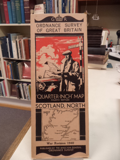 "Image for Scotland, North. Sheet 7. Ordnance Survey of Great Britain. War Revision 1940. ""Quarter Inch"" Map. Fourth Edition"