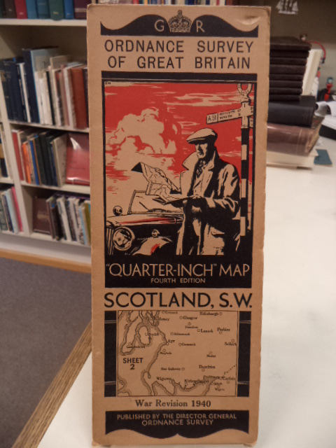 "Image for Scotland, S.W. Sheet 2. Ordnance Survey of Great Britain. War Revision 1940. ""Quarter Inch"" Map. Fourth Edition"