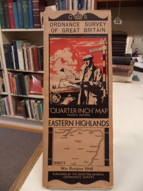 "Image for Eastern Highlands. Sheet 5. Ordnance Survey of Great Britain. War Revision 1940. ""Quarter Inch"" Map. Fourth Edition"