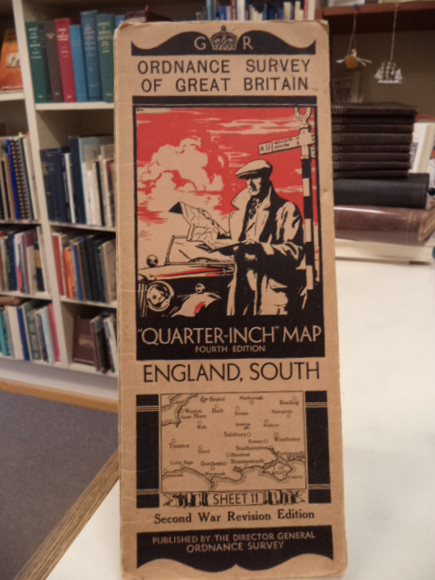 "Image for England, South. Sheet 11. Ordnance Survey of Great Britain. Second War Revision. ""Quarter Inch"" Map. Fourth Edition"