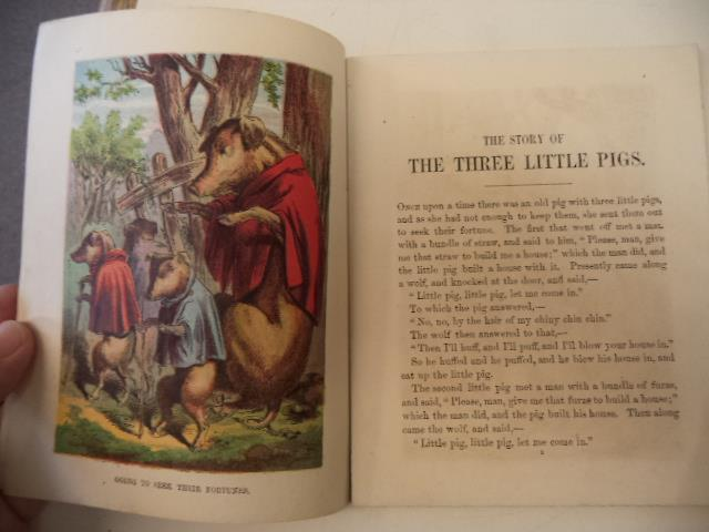 Image for The Story of the Three Little Pigs [McLoughlin Bros. Little Folks Series c. 1876]