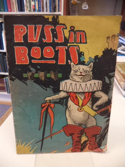 Image for Puss in Boots [linen c. 1910]