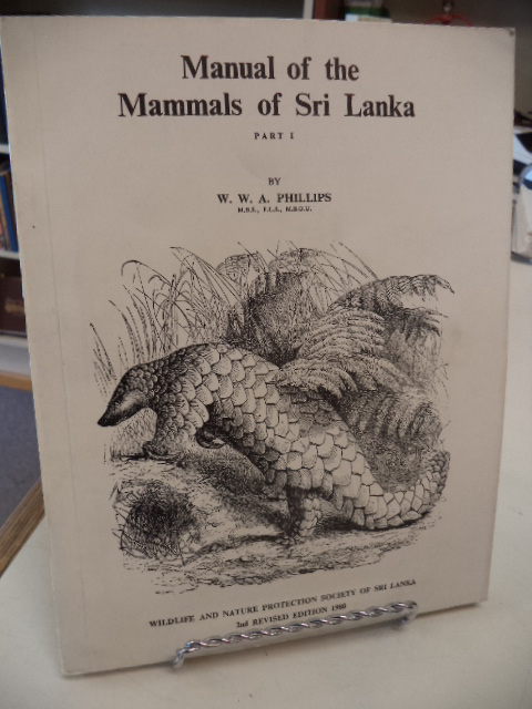 Image for Manual of the Mammals of Sri Lanka.  Part I