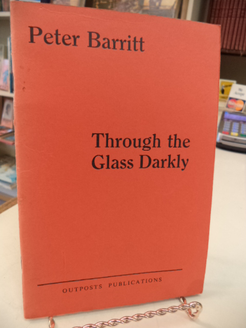 Image for Through The Glass Darkly [signed]