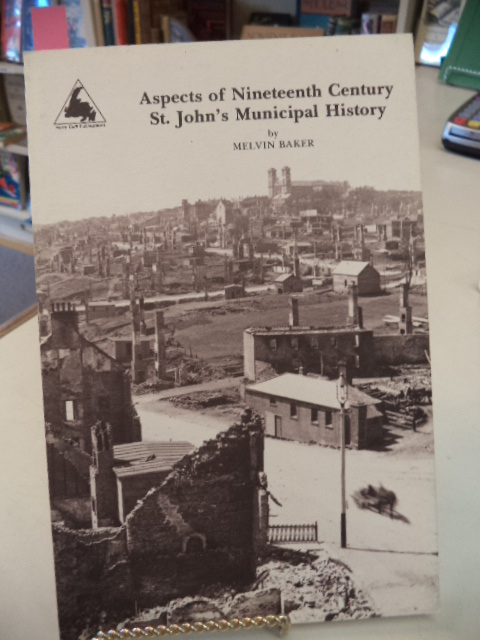 Image for Aspects of Nineteenth Century St. John's Municipal History