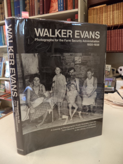Image for Walker Evans. Photographs for the Farm Security Administration 1935-1938. A Catalog of Photographic Prints Available from the Farm Security Administration Collection in the Library of Congress