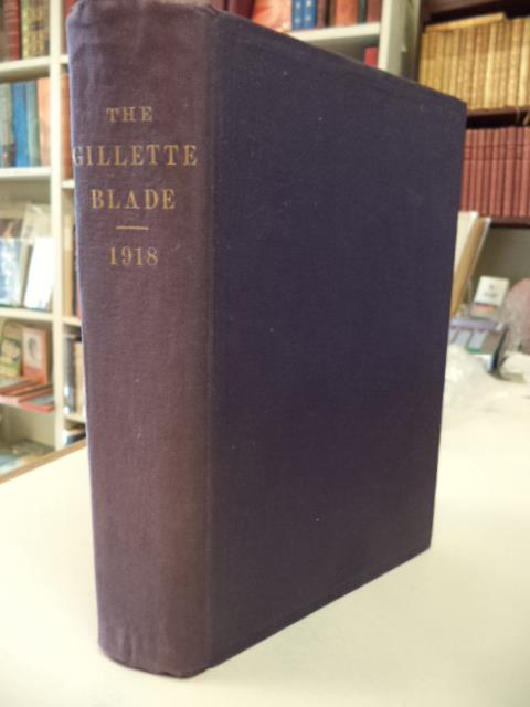 Image for The Gillette Blade. Volume 1 Number 4 through Volume 2 Number 3: February 1918 through January 1919