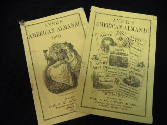 Image for Ayer's American Almanac. For the years 1881 and 1890 [two issues]