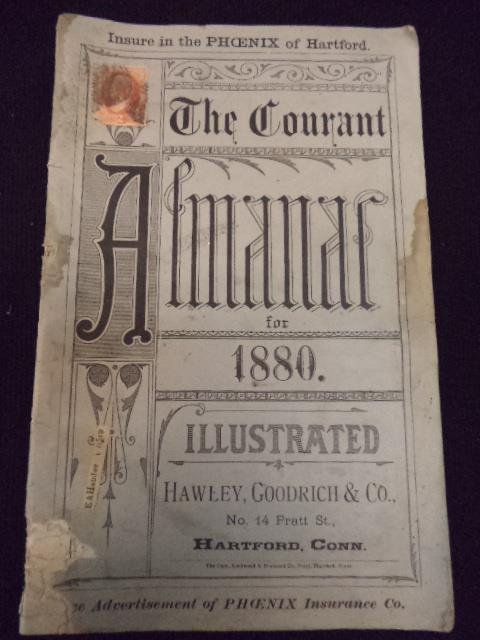 Image for The Courant Almanac for 1880